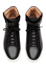 Leather High Tops - Black - Men | H&M CA 2