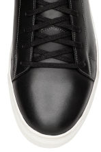 Leather High Tops - Black - Men | H&M CA 3
