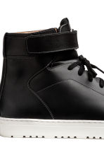 Leather High Tops - Black - Men | H&M CA 4