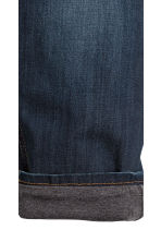 Relaxed Tapered fit Jeans - Bleu denim foncé - ENFANT | H&M FR 4