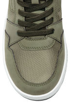 Hi-top trainers - Khaki green - Kids | H&M 3