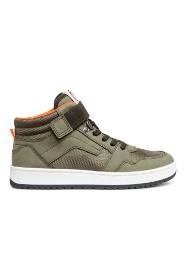 Hi-top trainers - Khaki green - Kids | H&M 1