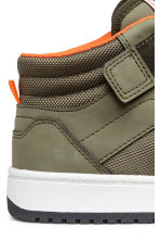 Hi-top trainers - Khaki green - Kids | H&M 4