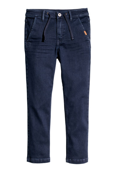 Denim chino - Donkerblauw -  | H&M BE 1