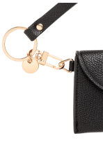 Key Lanyard with Card Case - Black - Ladies | H&M CA 2