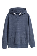 Hooded top - Dark blue marl - Kids | H&M 2