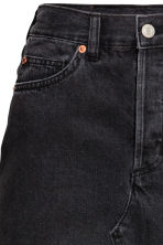 Knee-length denim skirt - Black - Ladies | H&M GB 3