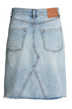 Knielange denim rok - Lichtblauw - DAMES | H&M BE 3
