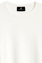 Sweatshirt - White - Men | H&M 3