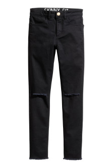 Generous fit Stretch trousers
