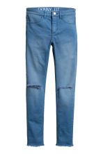 Generous fit Stretch trousers - Blue - Kids | H&M CN 1