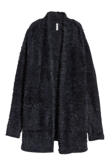 Long cardigan - Black -  | H&M