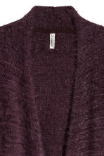 Long cardigan - Dark purple - Ladies | H&M CN 4