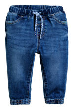 Jeans pull-on - Azul denim -  | H&M PT 1