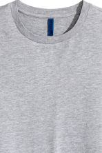 Round-necked T-shirt - Grey marl - Men | H&M CA 3