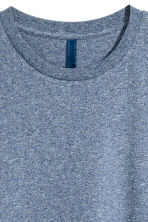 Round-necked T-shirt - Dark blue marl - Men | H&M CN 2