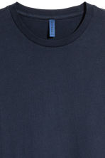 Round-necked T-shirt - Dark blue - Men | H&M 3