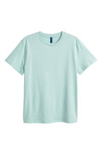 Round-necked T-shirt - Mint green - Men | H&M CN 2