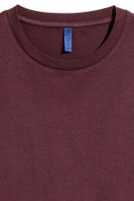 Round-necked T-shirt - Burgundy - Men | H&M CA 3