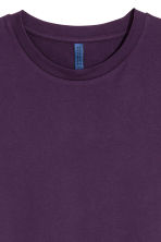 Round-necked T-shirt - Purple - Men | H&M CN 2