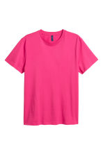 T-shirt a girocollo - Magenta - UOMO | H&M IT 2
