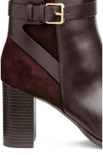 Ankle boots - Dark brown - Ladies | H&M CN 4
