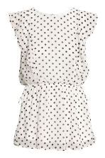 MAMA Patterned nursing blouse - White/Spotted - Ladies | H&M CN 2