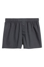 3-pack woven boxer shorts - Red/Checked - Men | H&M 2
