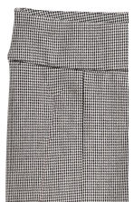 Treggings - White/Black checked - Ladies | H&M 3