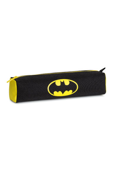 Printed pencil case - Black/Batman - Kids | H&M