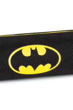 Printed pencil case - Black/Batman - Kids | H&M CN 2