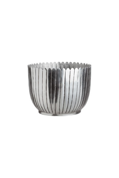 Liten kruka i metall - Silver - Home All | H&M SE