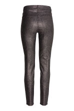 Pantaloni stretch glitter - Nero/glitter - DONNA | H&M IT 3