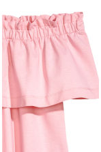 Off-the-shoulder dress - Light pink - Ladies | H&M CA 3