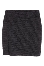 Crinkled jersey skirt - Black - Ladies | H&M 2