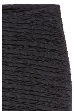 Crinkled jersey skirt - Black - Ladies | H&M 3