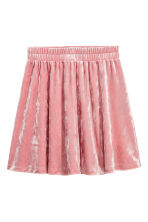 Velour skirt - Powder pink - Kids | H&M CN 2