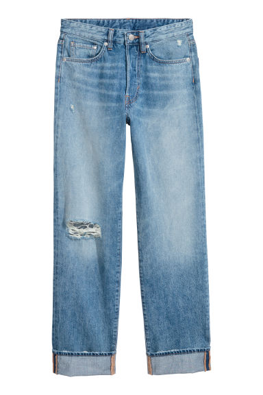 Vintage Straight Jeans - Blue - Ladies | H&M GB 1