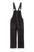 Denim dungarees - Black - Ladies | H&M 2