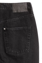 Zip-front denim skirt - Black - Ladies | H&M IE 3