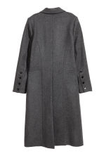 Wool-blend coat - Grey marl - Ladies | H&M CN 3