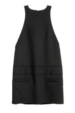 Wool-blend dress - Black - Ladies | H&M IE 2