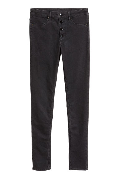 Slim Regular Jeans - Negru -  | H&M RO