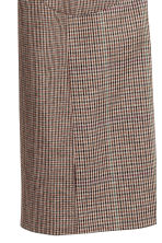 Cropped trousers - Brown/Black checked - Ladies | H&M IE 4