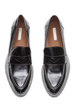 Leather loafers - Black - Ladies | H&M 2