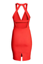 Fitted dress - Red -  | H&M 3