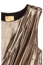 Metallic jurk - Metallic - DAMES | H&M BE 4
