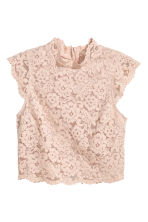 Top in pizzo - Beige - DONNA | H&M IT 2