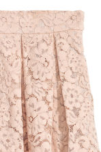 Short lace skirt - Beige - Ladies | H&M CN 3