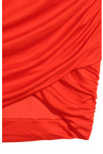 Draped Skirt - Red -  | H&M CA 2